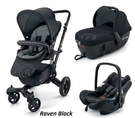 Concord Neo Travel Set (3 в 1) - Raven Black